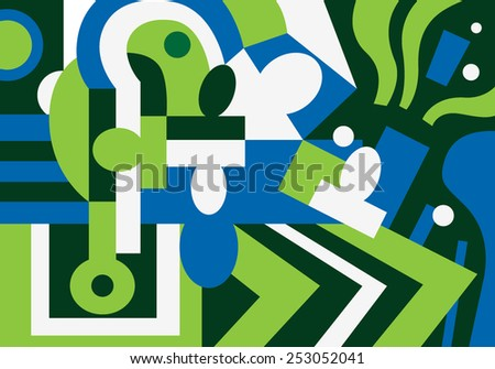 people psychology abstract background - stock vector
