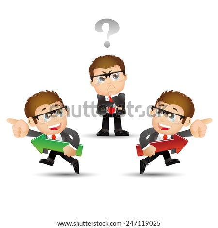 People Set - Business - Selection. Businessman - stock vector