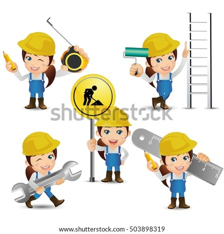 People Set - Profession - Worker