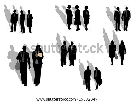 People  , silhouette