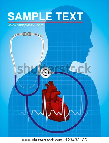 people who care about their health - stock vector