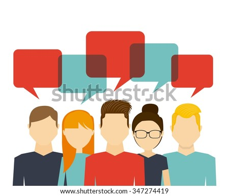 people working design, vector illustration eps10 graphic  - stock vector