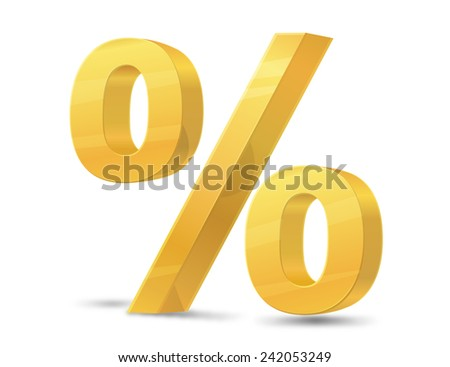 Percentage Symbol - Illustration