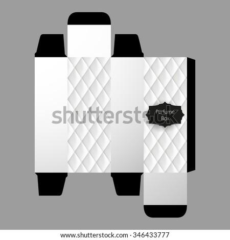 Perfume Box Template Design Vector Stock Vector 346433777 - Shutterstock