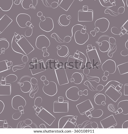 Perfume design seamless background wallpaper texture pattern