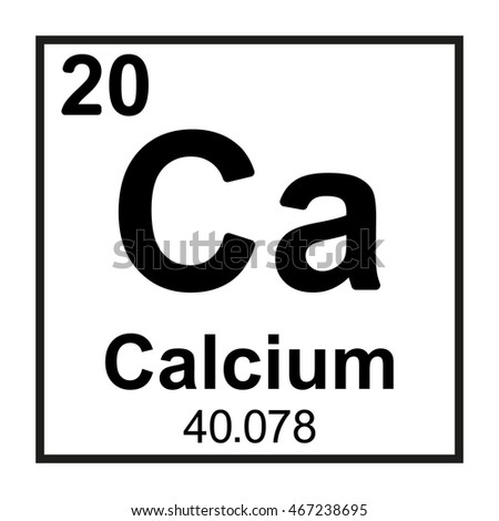 calcium element information - 450×470