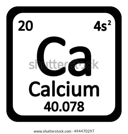 Periodic table element calcium icon on stock photo photo vector periodic table element calcium icon on white background vector illustration urtaz Gallery