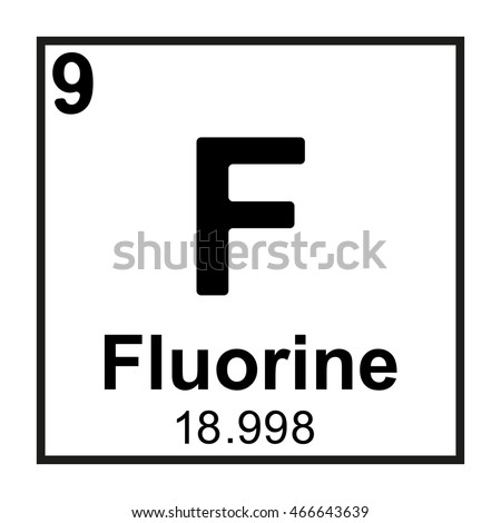 Fluorine stock images royalty free images vectors shutterstock periodic table element fluorine urtaz Image collections
