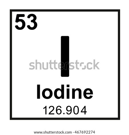 Periodic table element iodine stock vector royalty free 467692274 periodic table element iodine urtaz Images