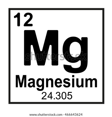 Periodic table element magnesium stock vector 466643624 shutterstock periodic table element magnesium urtaz Choice Image