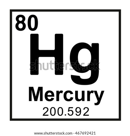 Periodic table element niobium stock vector 467692379 shutterstock periodic table element mercury urtaz Gallery