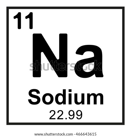 periodic table and sodium Periodic table and how the elements got their names process of naming the   soda (sodium carbonate, na2co3) from the egyptian salt lakes, and potash.