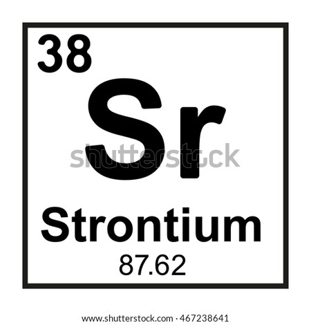List Of Synonyms And Antonyms Of The Word Strontium Symbol