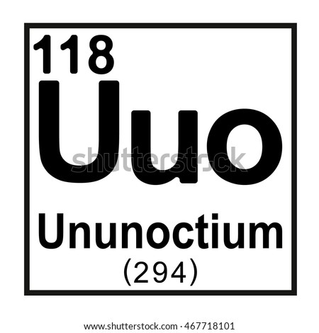 Periodic table element ununoctium stock vector 467718101 shutterstock periodic table element ununoctium urtaz Images