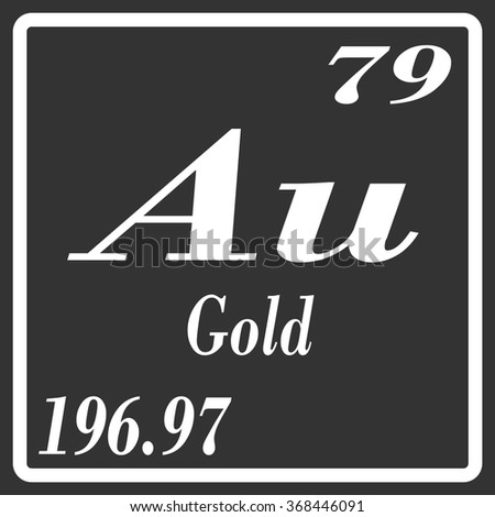 Periodic table elements gold stock vector 2018 368446091 periodic table of elements gold urtaz Image collections