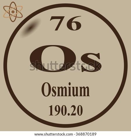 Periodic table elements calcium stock vector 368848322 shutterstock periodic table of elements osmium urtaz Images