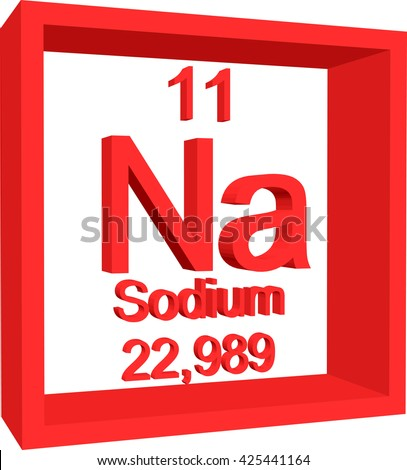 Periodic table elements sodium stock vector hd royalty free periodic table of elements sodium urtaz Gallery