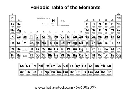 Periodic table stock images royalty free images vectors for Periodic table no 52