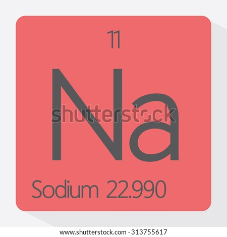 Periodic table sodium element stock vector royalty free 313755617 periodic table sodium element urtaz Choice Image