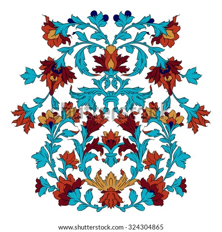 Persian ornament - stock vector