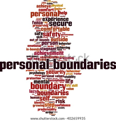 personal boundaries Examples of sentences to use to set your personal boundaries.