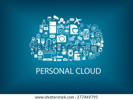 personal cloud computing for home automation services various connected devices within the. Black Bedroom Furniture Sets. Home Design Ideas