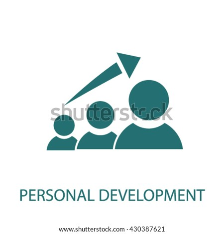 personal development  - stock vector