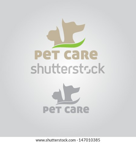 Pet Care Icon Illustration Vector - stock vector