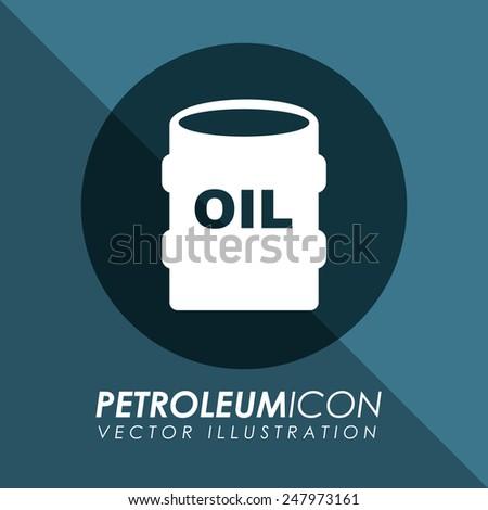 petroleum icon design, vector illustration eps10 graphic - stock vector