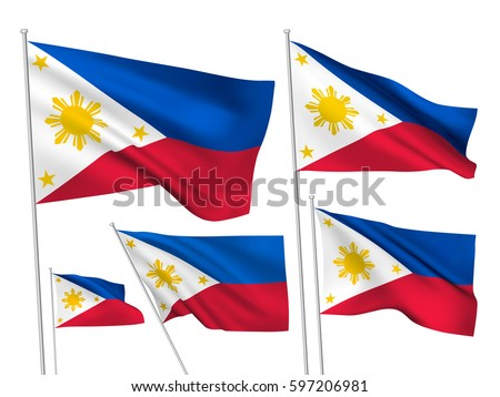 philippine flag vector stock images, royalty-free images & vectors