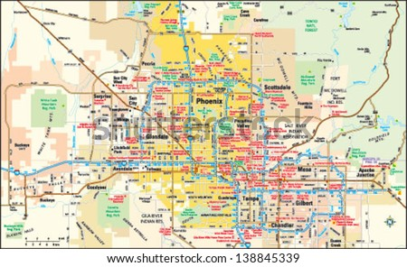 Arizona Map Stock Images Royalty Free Images Vectors Shutterstock