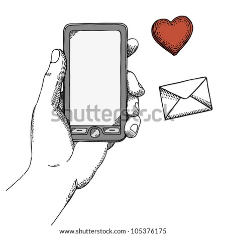 Phone - stock vector