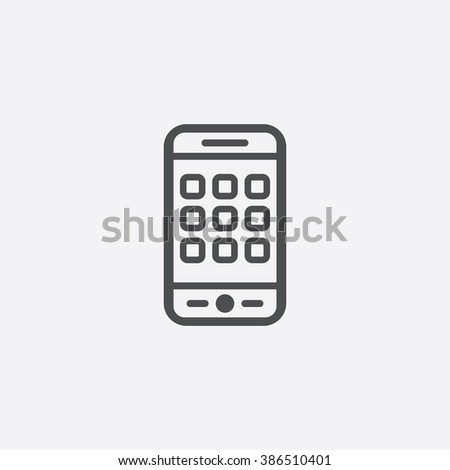 phone app Icon. phone app Icon Vector. phone app Icon Art. phone app Icon eps. phone app Icon Image. phone app Icon logo. phone app Icon Sign. phone app icon Flat. phone app Icon design - stock vector