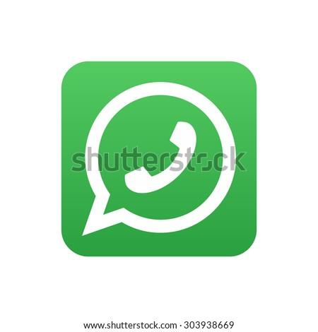 Phone icon. Vector illustration.  - stock vector