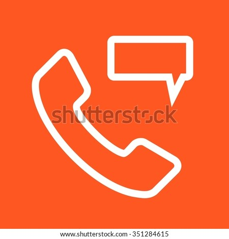 Phone, mobile, message icon vector image.Can also be used for material design. Suitable for mobile apps, web apps and print media.