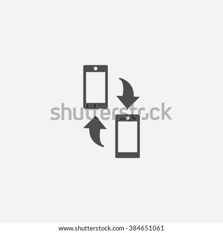 phone transfer Icon. phone transfer Icon Vector. phone transfer Icon Art. phone transfer Icon eps. phone transfer Icon Image. phone transfer Icon logo. phone transfer Icon Sign. phone transfer Icon - stock vector