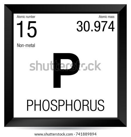 Phosphorus symbol element number 15 periodic stock vector 741889894 phosphorus symbol element number 15 of the periodic table of the elements chemistry urtaz Images
