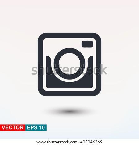 Photo camera icon, Photo camera icon eps, Photo camera icon art, Photo camera icon jpg, Photo camera icon web, Photo camera icon ai, Photo camera icon app, Photo camera icon flat, Photo camera icon - stock vector