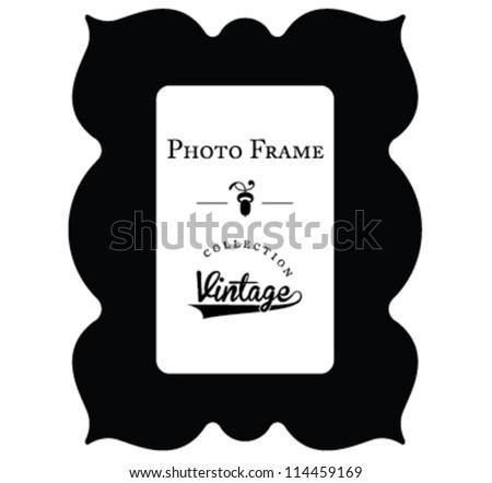photo frame - stock vector