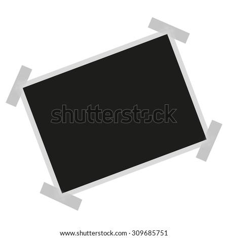 Photo Frame on white background - stock vector