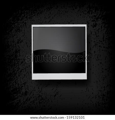 Photo frame. Vector - stock vector
