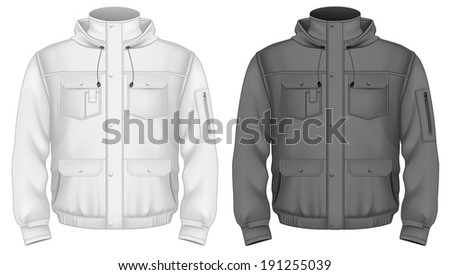 Jacket Template Stock Photos Royalty-Free Images &amp Vectors