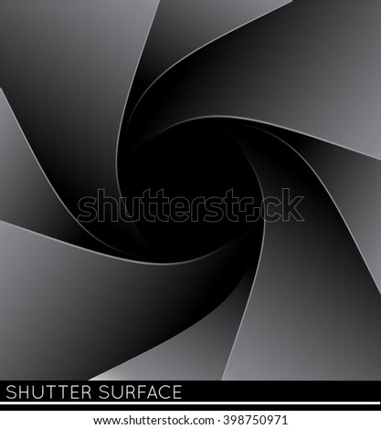 Photo shutter illustration. Vector illustration.