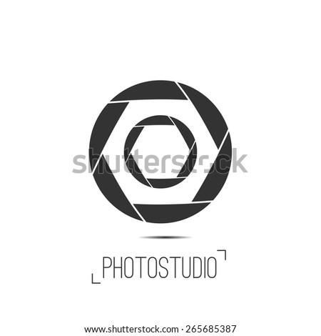 Photo studio logo business card template stock vector 265685387 photo studio logo and business card template vector photography logo templates photo cam logotype reheart Choice Image