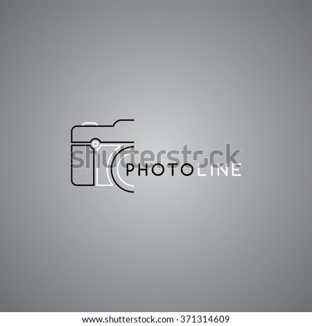 photography symbol theme - stock vector
