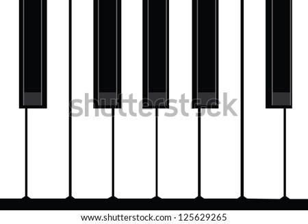 Piano - stock vector