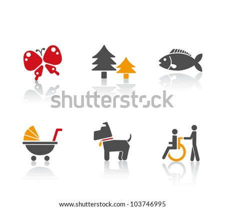 Pictogram - stock vector