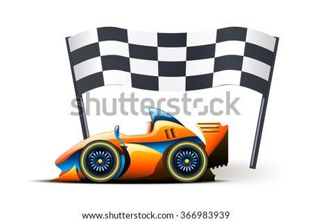 picture of flag - stock vector