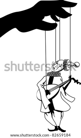Pierrot. Personage of italian comedy. Vector illustration