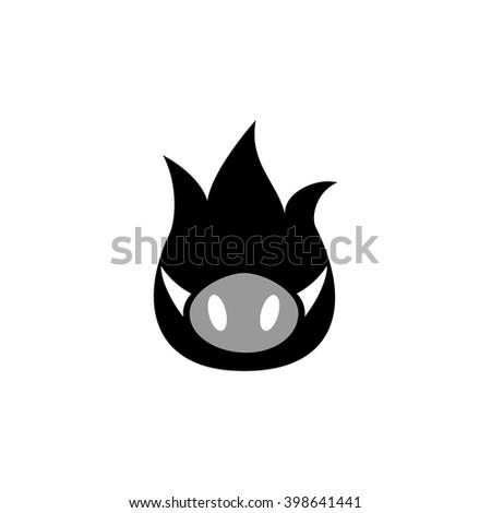 pig logo stock images royaltyfree images amp vectors